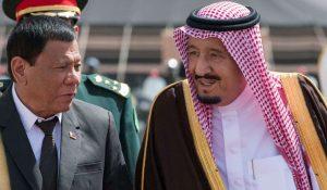 PRRD Saudi King