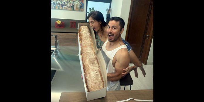 Andrea Torres Derek Ramsay sandwich