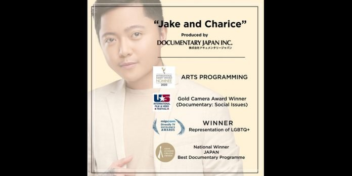 Jake and Charice MIPCOM DIVERSIFY TV EXCELLENCE AWARDS 2020