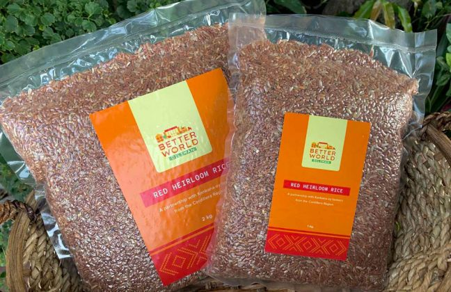 Better World Diliman rice